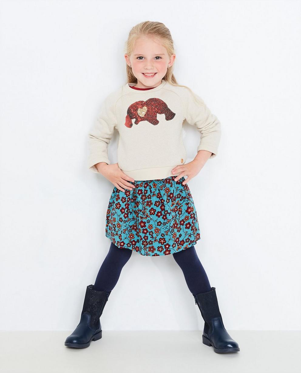 Sweater mit Metallfaden - und Plop-Mütze, Plop - Plop